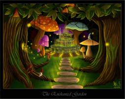 The Enchanted Garden by Scorptique