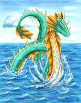 Elemental Dragon - Water