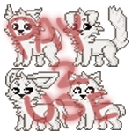 Pay To Use: Fluffy Icon Base Pack by JeanaWei