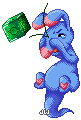 Attack of the Gummy Dice Game Pixel by JeanaWei