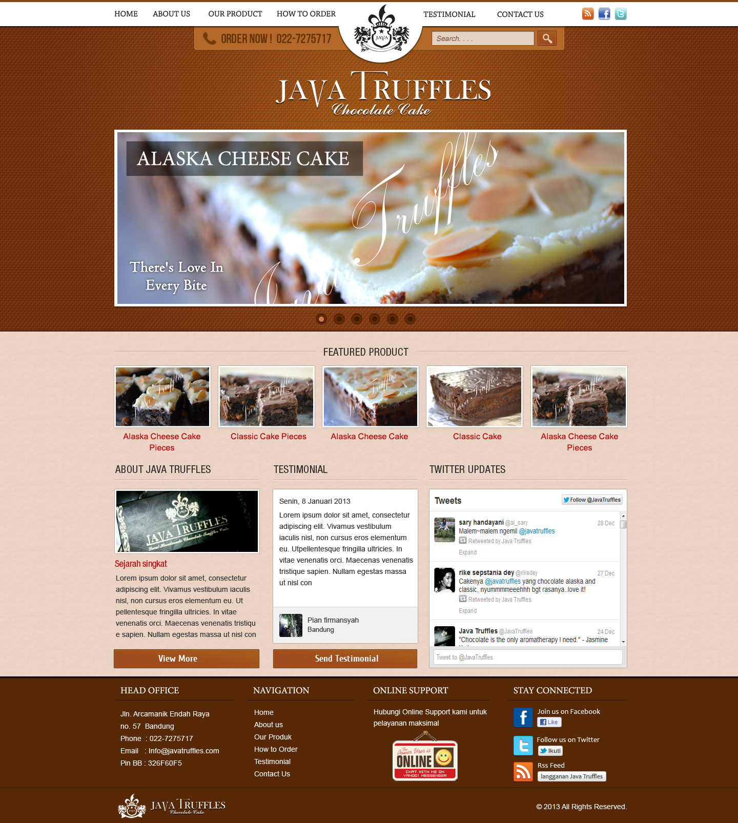 Java truffles simple web design by veeyhanz on deviantart Build easy website