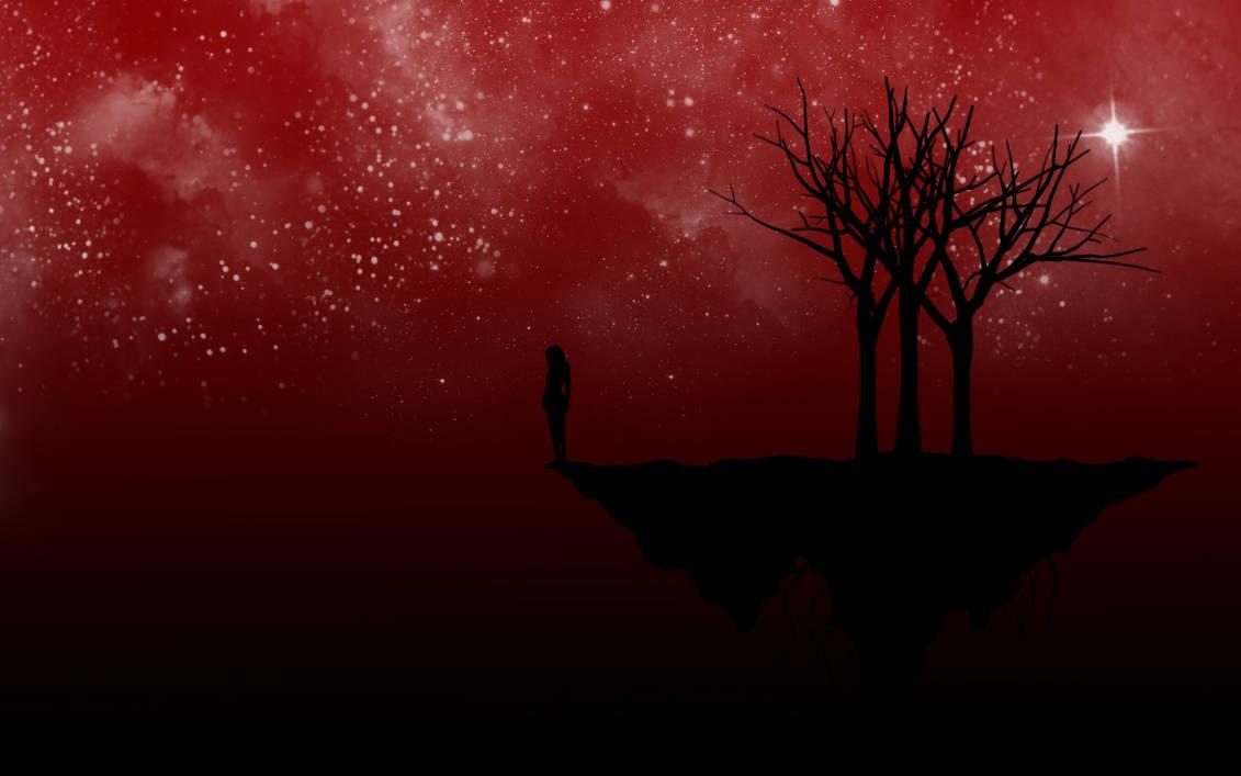 Red Night Vector