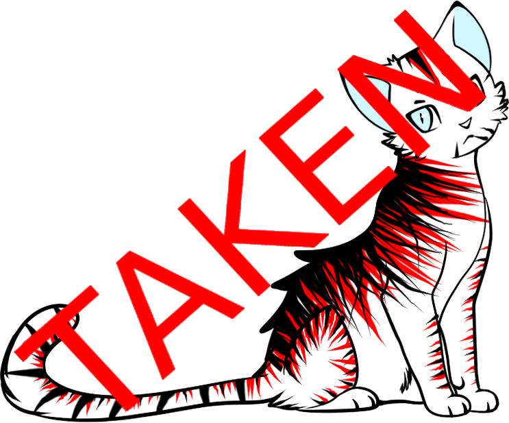 Cat Adopt 17 // TAKEN by Leopardenschweif