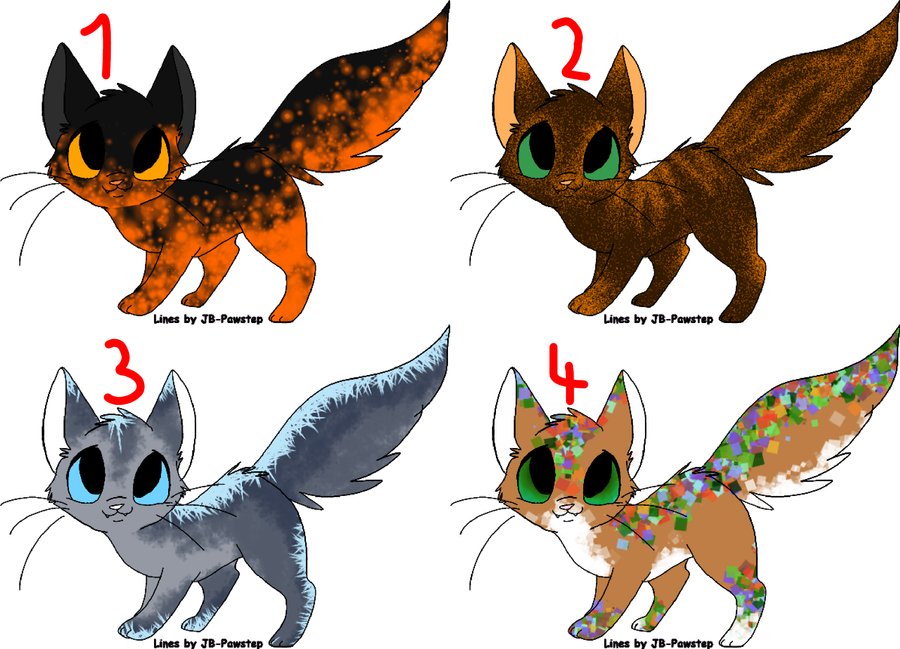 Cat Adopts // 5 Points by Leopardenschweif