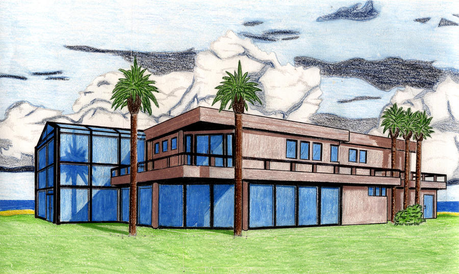 House perspective drawing by cemueller86 on deviantart for House sketches from photos