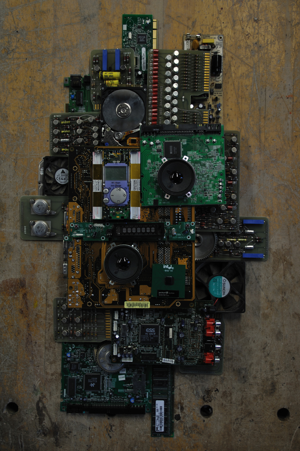 Circuit Board Sculpture How To Recycle Boards