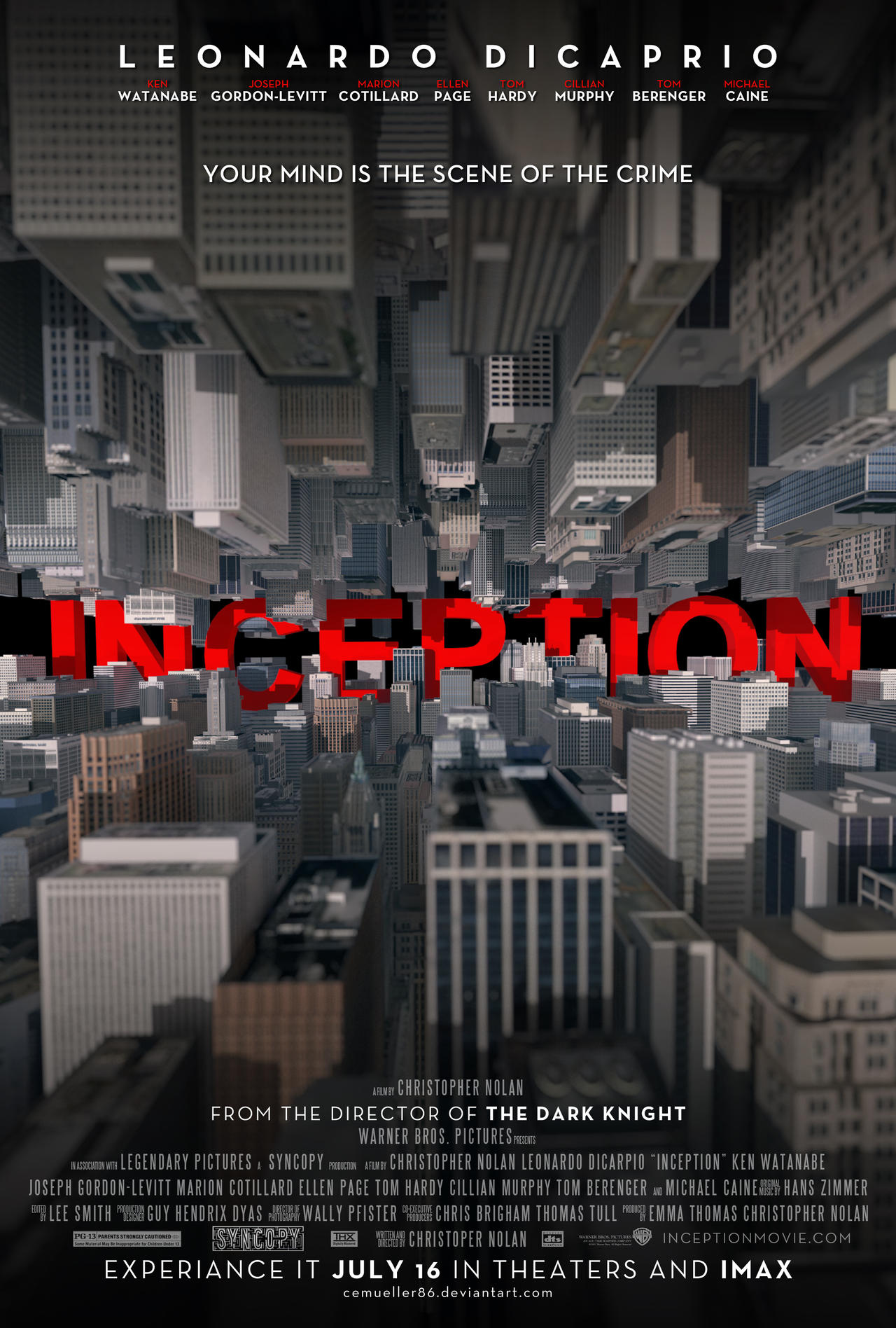 writer of inception movie Inception opens with a dream within a dream then it gets complicated writer- director christopher nolan is messing with our heads once more, as he did in his .