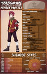 TG: Kaien Oshiro Timeskip (Stats not updated) by Lumaki-o