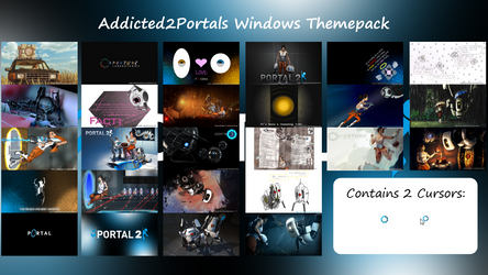Addicted2portals Windows Themepack by Th00z