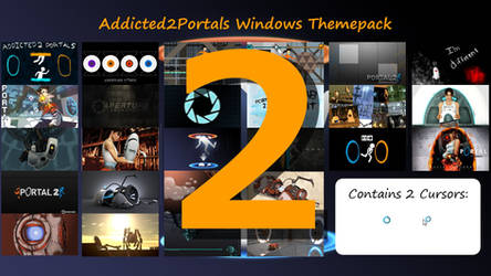 Addicted2portals Windows Themepack 2 by Th00z