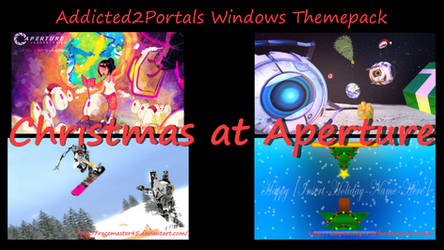 Addicted2portals Christmas at Aperture Themepack