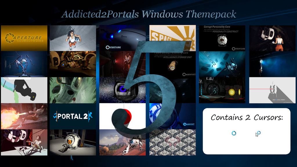 Addicted2portals Windows Themepack 5