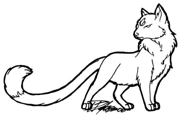 Demon Lord Ewey - Cat Form by keikittora