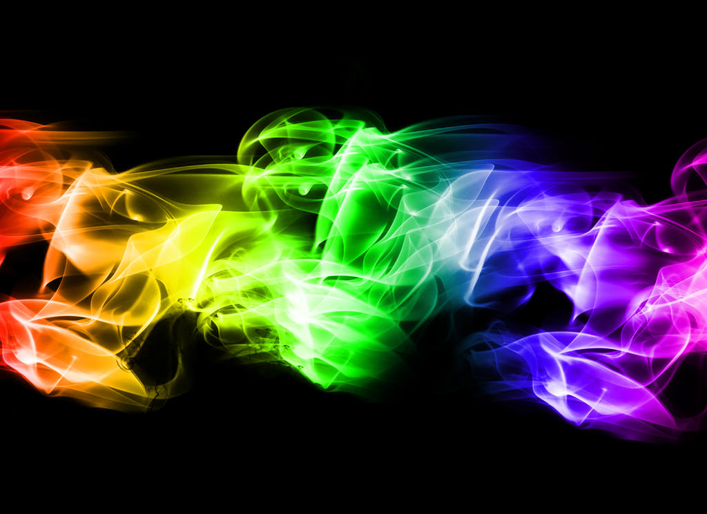 Neon Smoke Background By CrazyCapricorn ...