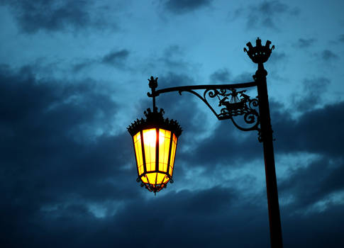 Street Lamp at Camoes Square