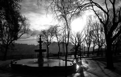 Sun rise at Lisbon