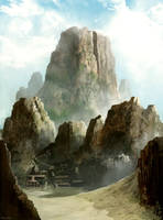 Mountain Trail by heyhomoe