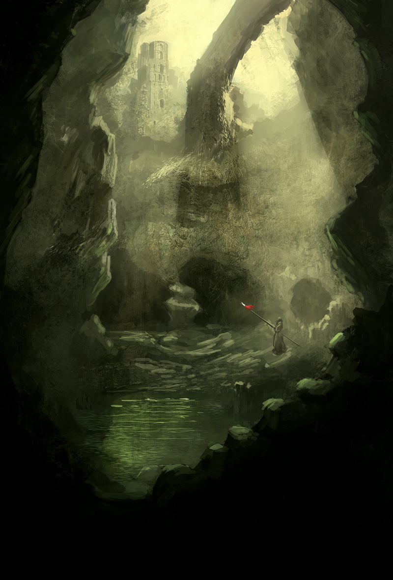 Bottom Cave by heyhomoe
