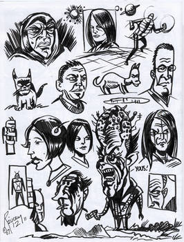 Page From Sketchbook Number 46