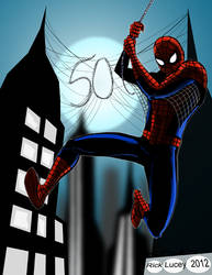 Spider-Man 50 Years of web slinging!