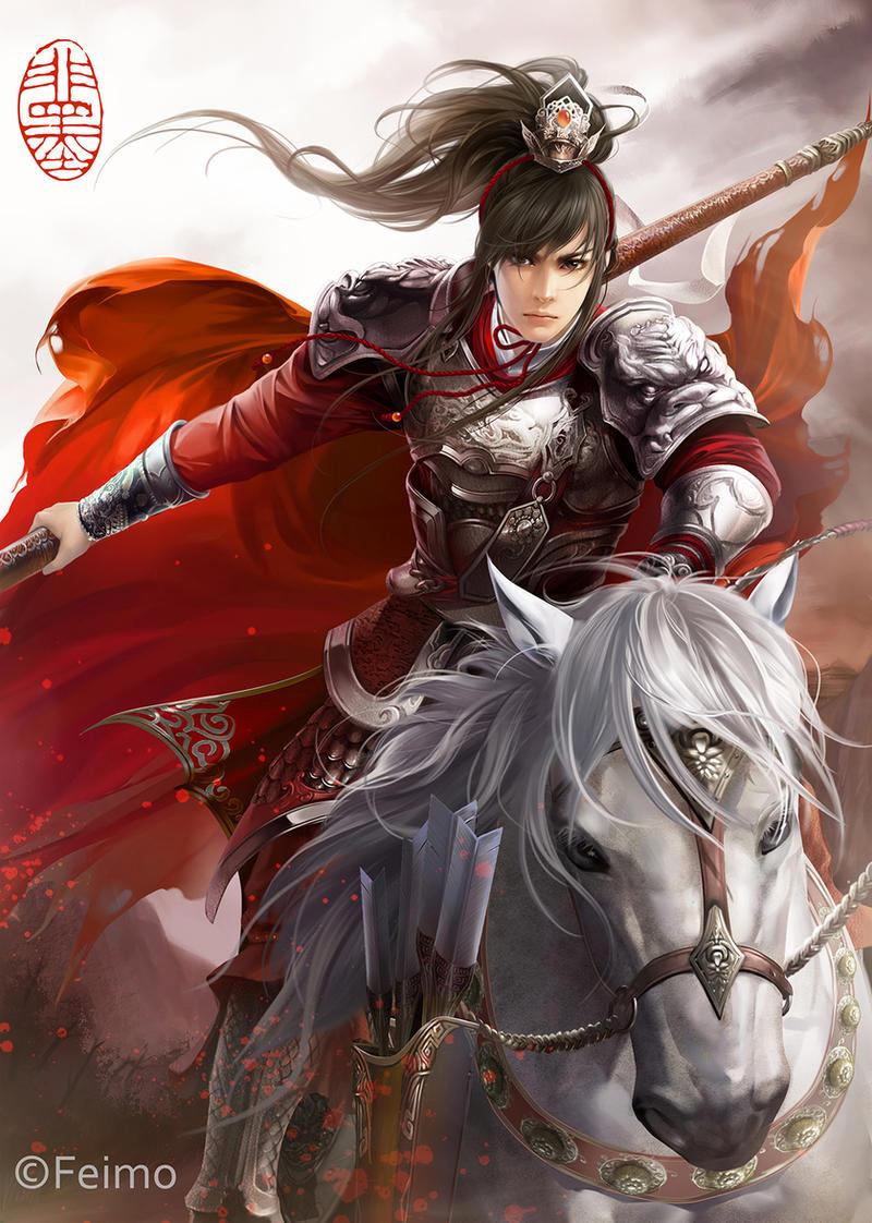 Zhao Yun by feimo