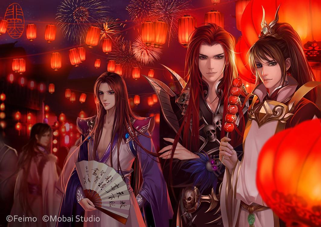 Happy Lantern Festival(Sien nui yau wan 2) by feimo