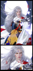 Sesshomaru-InuYasha-Classic Anime Project by feimo