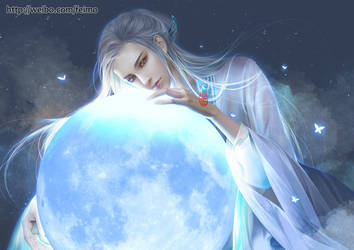 Moon by feimo