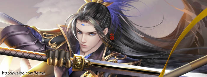 Swordsman by feimo