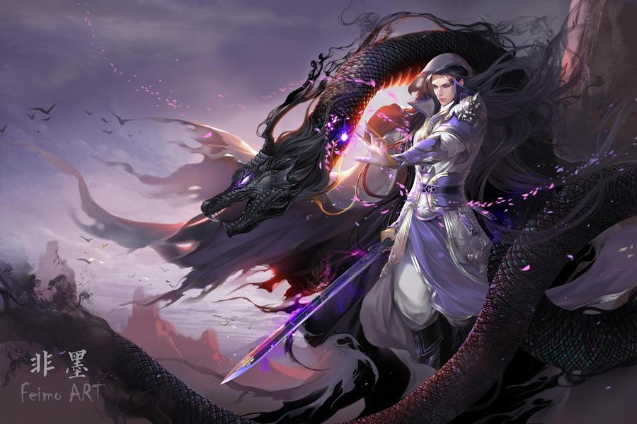 Black Dragon by feimo