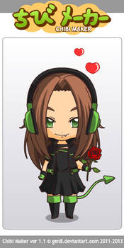 How I would like to be in chibi