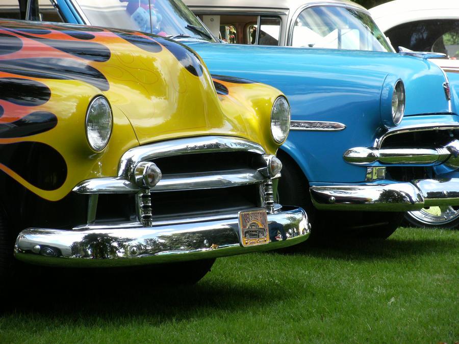 Chevy Vs Ford Logo Chevy vs. Ford by finh...