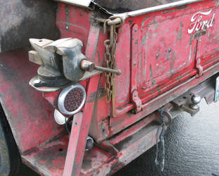 Bench vise-tail light combo by finhead4ever