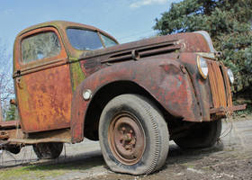 Faded Old Rusty Driver by finhead4ever