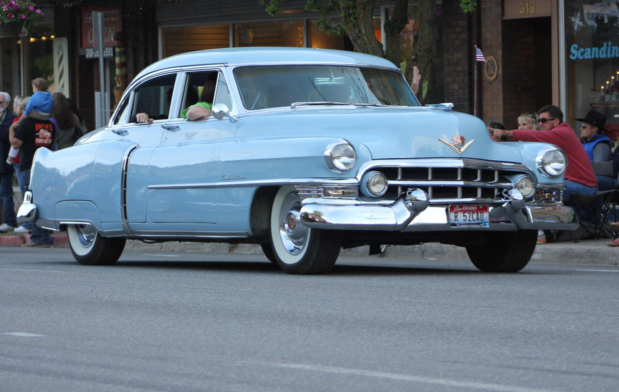 Baby blue Cadillac by finhead4ever on DeviantArt