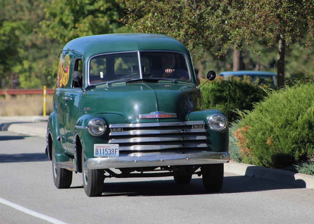Chevrolet panel truck by finhead4ever