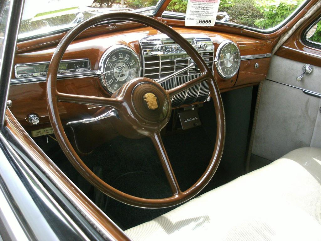 1941 Cadillac interior by finhead4ever