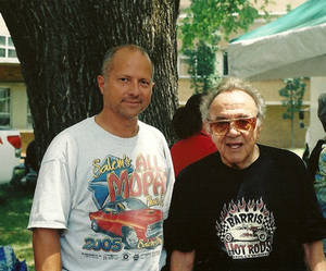 Finhead and George Barris