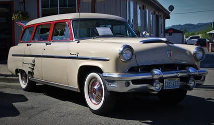 1953 Mercury station wagon by finhead4ever