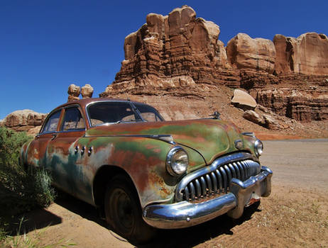Bluff, Utah - the famous Buick