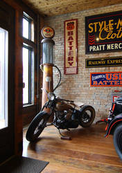 Vintage Harley by finhead4ever