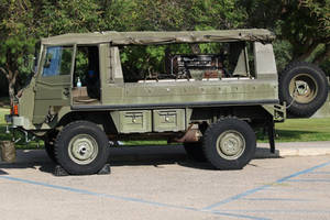 Pinzgauer ice cream truck