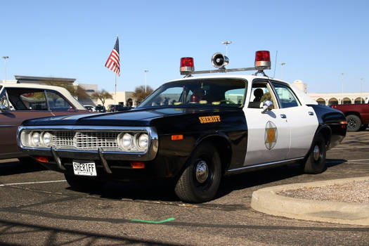 Cop car from the good ol' days