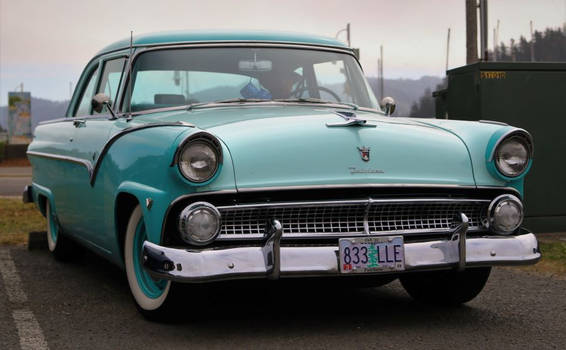 '55 Ford Fairlane (not electric)