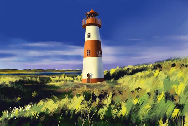 Landscape Practice by viktorkrieger