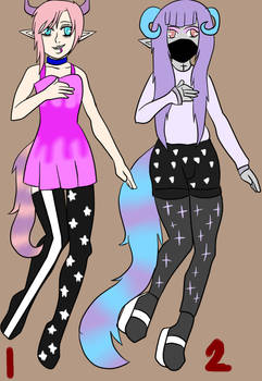 Pastel Goth Demon adopts (CLOSED)