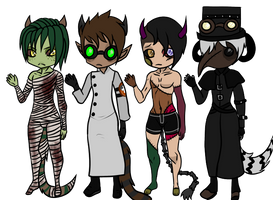 Spooky Closed Species adopts (CLOSED)