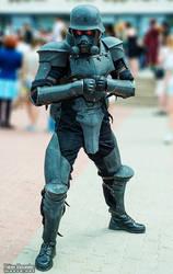 Jin-Roh. Policeman