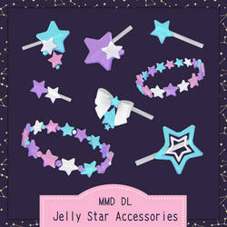 Jelly Star Accessories | MMD DL | by meovvsotis