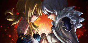 Fairy Tail 328 Lucy and Yukino